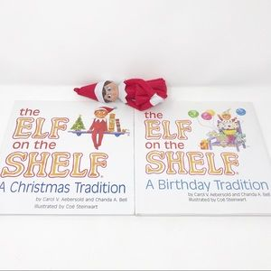 Elf on the shelf books and elf